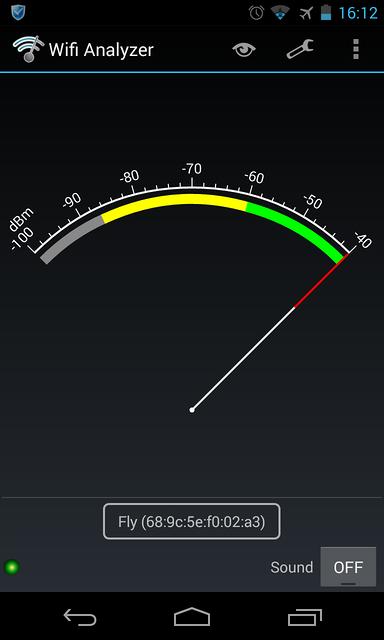 MiFi WiFi信号强度